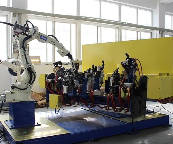 仪表板弧焊工作站